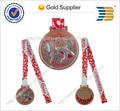 2014 de alta calidad 3d logotipo personalizado medalla de los deportes medallón