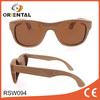 china wholesale custom logo unisex wooden sunglasses