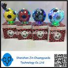 Crystal football mini speaker glass round ball speaker CH-20