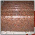 De bordo vermelha G562 passo granito escadas preços