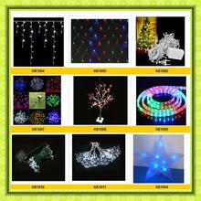 led christmas light decoration/decorative running led lights for christmas