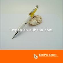 Oil floating deign promotional ballpoint pen