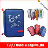Wholesale 3 layers 600d multifunction fashion stationary pencil case