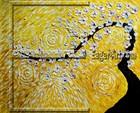 $11.37 size 80x60cm Wholesale Unique Flower Oil Painting Pictures