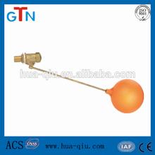 brass water tank float ball valve