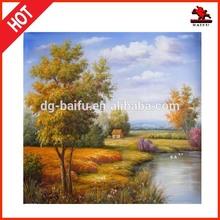 western figure oil painting reproduction paintings autumn landscape