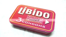 Rectangular Slide Tin Box for Condom/Mints/Peppermints/Candy