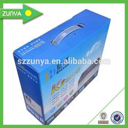 Cardboard box manufacturers,cardboard box with handle,custom cardboard box