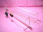Clear acrylic earring display stand UPD-AD93