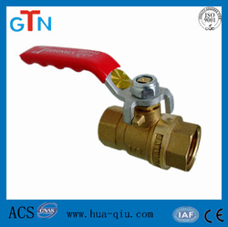 Female forged brass long stem ball valve