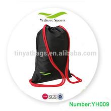 eco friendly bag drawstring bag for men backpack gym sack