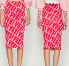 women fashion pencil skirt / latest design lady slim fit casual knee length pencil skirt