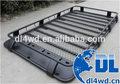 Galerie de toit de voiture pour land rover discovery 4x4 personnalisée. barres de toit