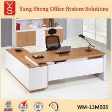 L shape MDF executive desk
