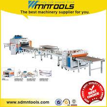 Veneer laminating hot press machine