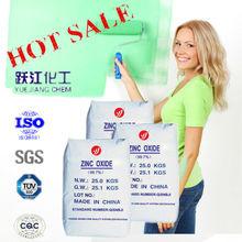 De china óxido de zinc precio
