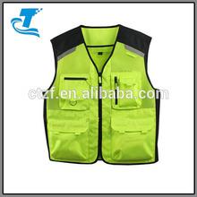 High Vis Reflective Motorcycle Safety vest