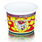 6oz mini plastic cup yogurt cartoon container for kid