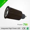 China Product LED Spot light 7w Dimmable COB GU10 LED BULB