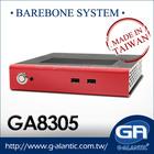 GA8305 mini pc barebones systems Supports Windows 8/7