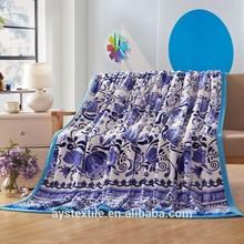 Cute Cartoon Printing Wholesale Mink Blanket/Baby Blanket/Fleece Blanket