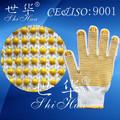 proveedor chino de trabajo de algodón guantes de seguridad de venta al por mayor de china de mercancías