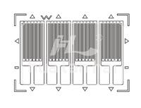 Electronic Metal Foil Strain Gauge FD type