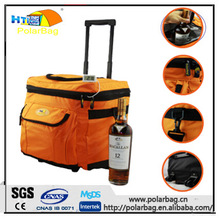 high quality trolly insulated cooler tote bag for food beverage picnic bag