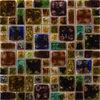 New design of ceramic crackled mosaic for interior decoration