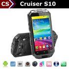Cruiser S10 Quad core GPS 1G+16G 13MP Cam rugged smart phone haier w910 waterproof