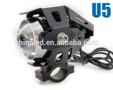 Super Bright U5 With Lens 6000K 12V LED U5 Motorcycle Headlight for BMW