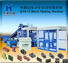 Made in china! Completamente automatico blocco di cemento utilizzato macchina qt8-15 utilizzato blocco di cemento macchina per la vendita