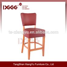 Wooden fabric Bar chair