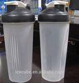 600ml shakers, agitador de plástico, proteína de botella de la coctelera