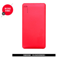 2014 hot sale ultra-thin 5000 mah mobile power pack with 4 LED battery indicator lights for iphone samsung htc