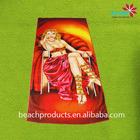 2014 supply new popular micro fiber pictures of women sex beach towel