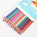 """Licheng wpc14 kırtasiye ürünleri, 7"""" plastik gökkuşağı renkli kalem"""