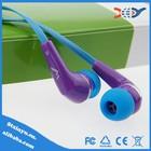 2014 Hot Sale cheap earphone, and xiaomi earphone in-ear earphone for mp3