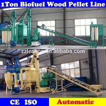 Automatic Forest Biomass Fuel Pellet Wood Production Line
