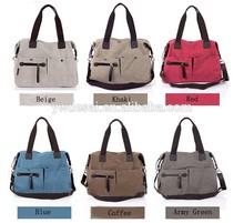 Fashion canvas bags,handbags wholesale China,ladies shoulder bags manufacturer