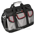 "GM-003 14"" Utility portable canvas tool bags with regid plastic sheet"