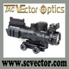Vector Optics 4x32 Chevron Rapid-Changing 3 Color Illuminated Red Green Blue Brightness Tactical Hunting Riflescope China