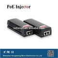 Nice preço 10/100/1000m 30w 48v 802.3at 30w poe injector