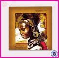 yüksek kaliteli el yapımı afrika Modern kadın yağlıboya tuval