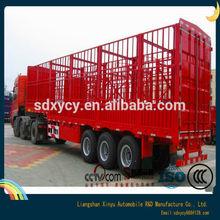 Hot Sale Fence cargo transport semi trailer stake trailer