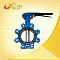 Válvula borboleta tipo wafer de válvulas motor de combustão interna