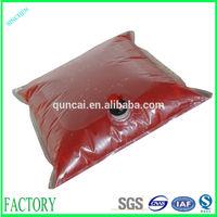 220L sauce packaging bag/plastic sauce bag/tomato paste bag