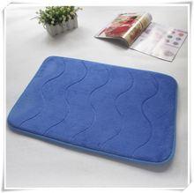 memory foam/slow rebound sponge bath mat , bath rug , bath carpet/Memory foam bath mat_ Qinyi