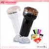 Best choice for male! wireless vibrating flashlight vagina&rubber vagina&flashlight sex toy for man