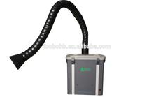 Saldatura/laser estrattore fumi con uno o due rami